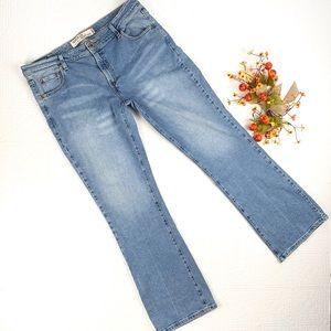 Levi's 518 Superlow Boot Cut Jeans SZ 17